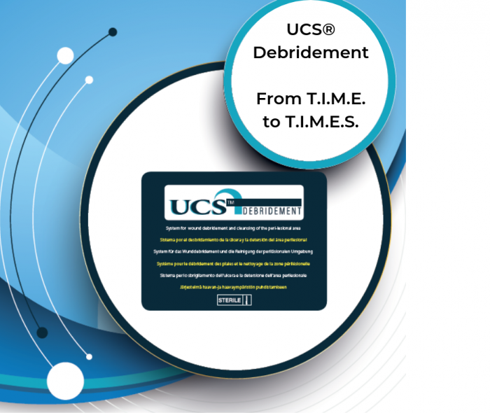 T.I.M.E. evolves into T.I.M.E.S… UCS® Debridement complies…