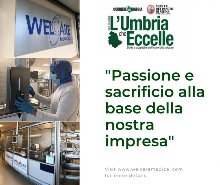 L'Umbria che Eccelle - Speciale Storia: Passione e sacrificio alla base della nostra impresa