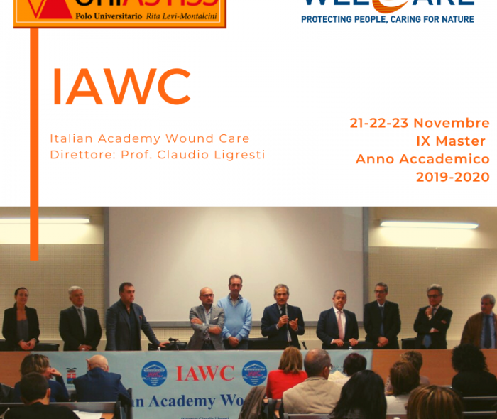 DAL 21 AL 23 NOVEMBRE: IX MASTER IAWC – ITALIAN ACADEMY WOUND CARE