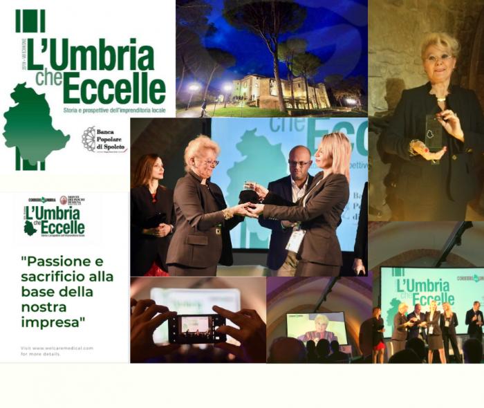 L'Umbria che Eccelle - al castello di Solfagnano l'esclusiva serata di Premiazione