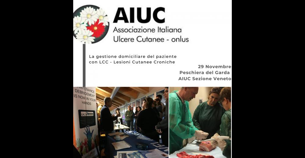 Corso di Formazione AIUC - Sezione Veneto: La gestione domiciliare del paziente con LCC - Lesioni Cutanee Croniche