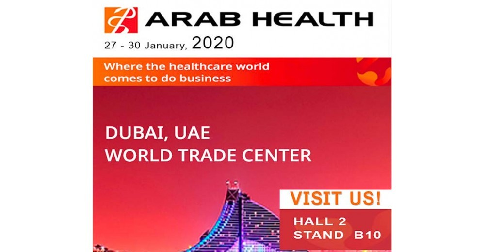 ARAB HEALTH 2020: THE LARGEST HEALTHCARE EXHIBITION IN GCC