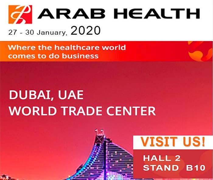 ARAB HEALTH 2020: LA PIÙ GRANDE FIERA MEDICALE DEL MEDIO ORIENTE