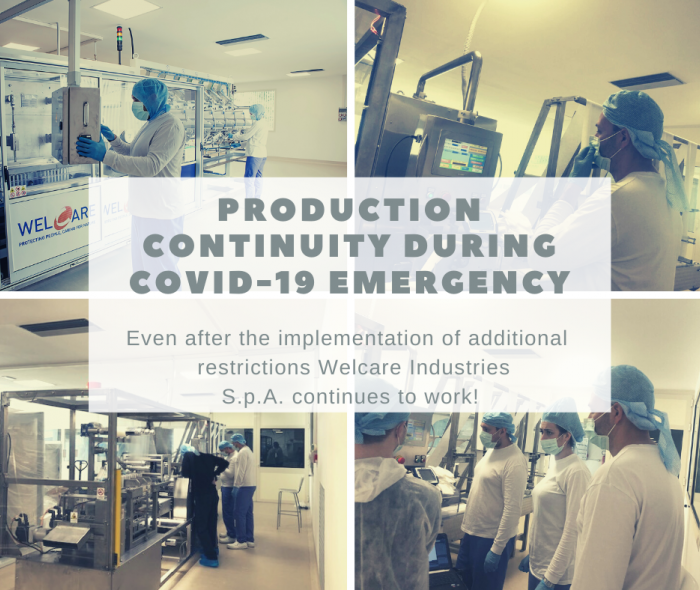 Production continuity during Covid-19 emergency: update on new measures