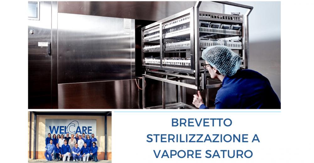 Brevetto per la sterilizzazione a vapore saturo