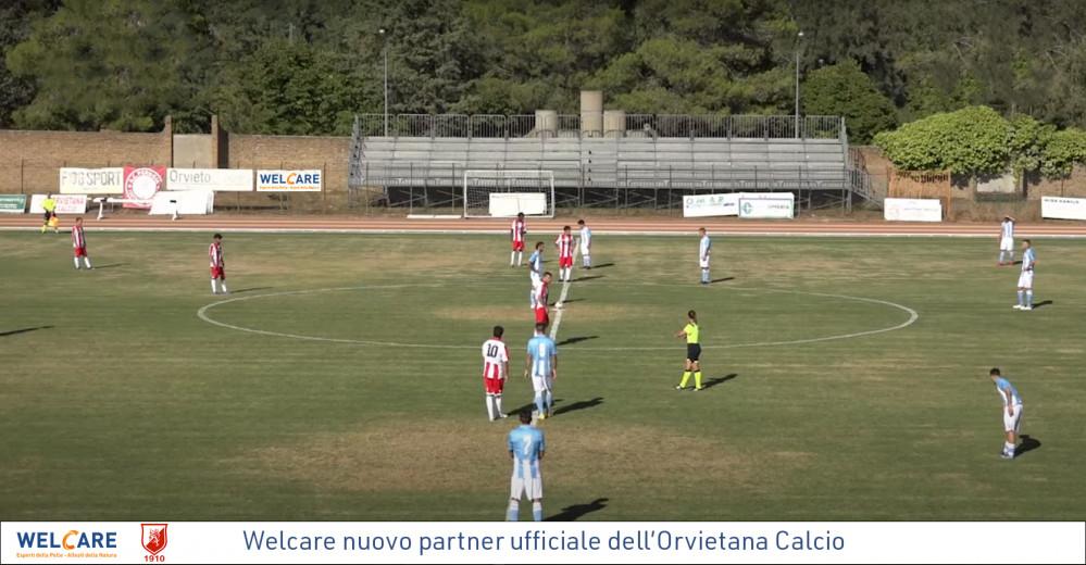 Welcare sponsor dell'Orvietana Calcio: Rafforziamo il legame con il territorio
